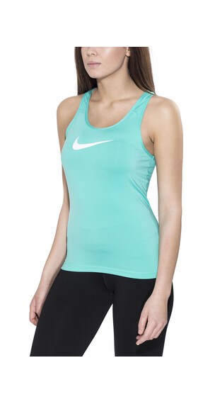Nike Pro Cool hardloopshirt groen/turquoise